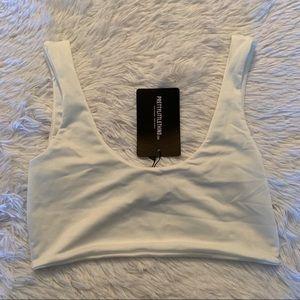 Final Price - PrettyLittleThings white bikini top